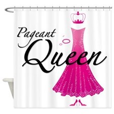 Pageant Queen Shower Curtain
