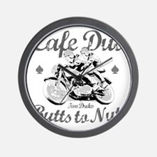 butts to nuts Wall Clock