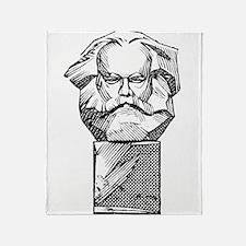 Karl Marx Throw Blanket