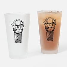 Karl Marx Drinking Glass