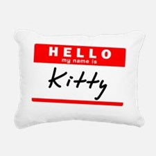 Kitty Rectangular Canvas Pillow