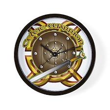 CELTIC-WARRIOR- Wall Clock