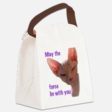 Nikita May the force be with you Canvas Lunch Bag
