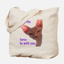 Nikita May the force be with you Tote Bag