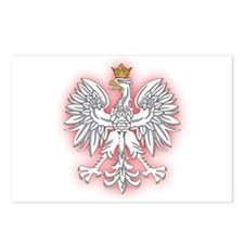 Polish White Eagle 2 Postcards (Package of 8)