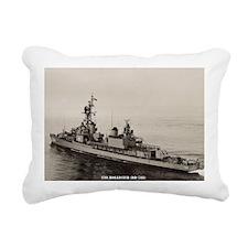 hollister framed panel p Rectangular Canvas Pillow