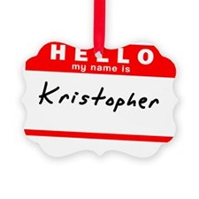 Kristopher Ornament