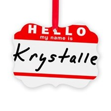 Krystalle Ornament