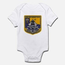 USS OKLAHOMA CITY Infant Bodysuit