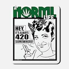 norml-life6 Mousepad