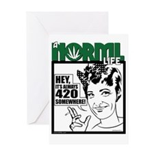 norml-life6 Greeting Card