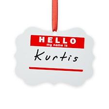 Kurtis Ornament