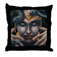 medusa_mousepad Throw Pillow