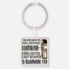 Summon Yak Square Keychain