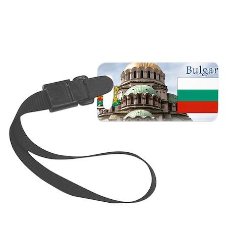 Bulgaria Small Luggage Tag