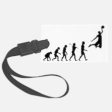 basketball_evolution Luggage Tag