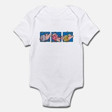 Sleepytime piggies Infant Bodysuit