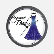 Pageant Dad Wall Clock