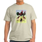 Danish Leghorn Rooster, Hen & Light T-Shirt