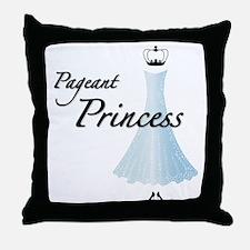 Pageant Princess Throw Pillow