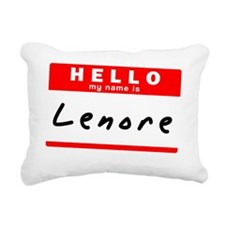 Lenore Rectangular Canvas Pillow