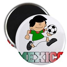Mexican Soccer Football Magnet