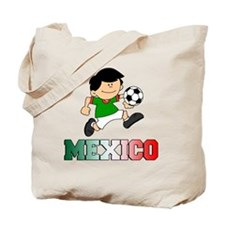 Mexican Soccer Football Tote Bag