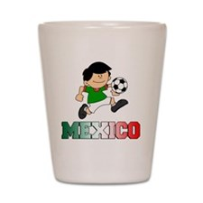 Mexican Soccer Football Shot Glass
