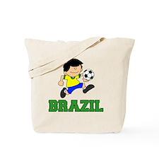 Brazil Soccer Football Tote Bag