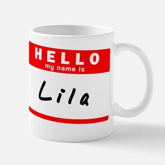 Lila Mug