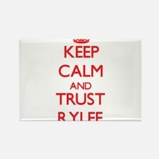 Keep Calm and TRUST Rylee Magnets