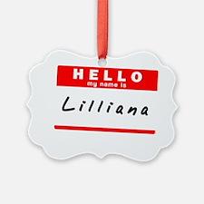 Lilliana Ornament