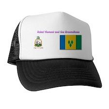 Saint Vincent and t Trucker Hat