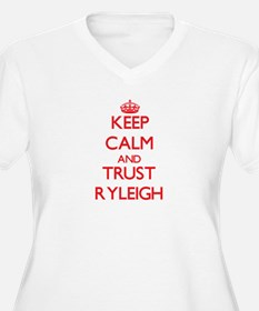 Keep Calm and TRUST Ryleigh Plus Size T-Shirt