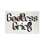 Godless Grief Rectangle Magnet