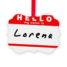 Lorena Picture Ornament