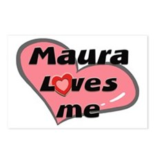 maura loves me  Postcards (Package of 8)