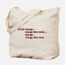 People Change Tote Bag