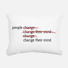 People Change Rectangular Canvas Pillow