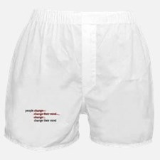 People Change Boxer Shorts