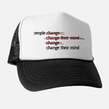 People Change Trucker Hat