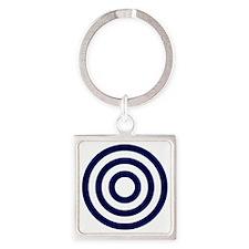Urantia Trinity Symbol Square Keychain