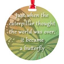 11.5sq_bev_butterfly Ornament