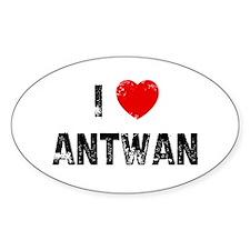 I * Antwan Oval Decal
