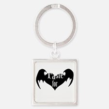 A-Taste-for-Love Square Keychain