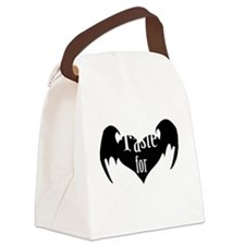 A-Taste-for-Love Canvas Lunch Bag