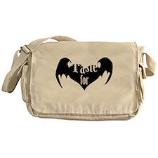 A-Taste-for-Love Messenger Bag