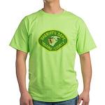 Tehama County Sheriff Green T-Shirt