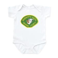 Tehama County Sheriff Infant Bodysuit