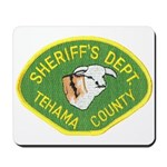 Tehama County Sheriff Mousepad